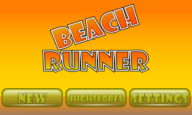 Beach Runner - screenshot