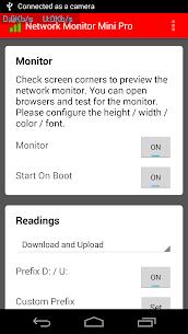 Monitor de red Mini Pro 5