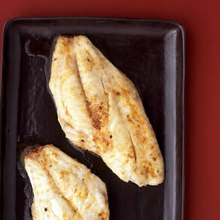 Broiled Snapper with Paprika Butter.