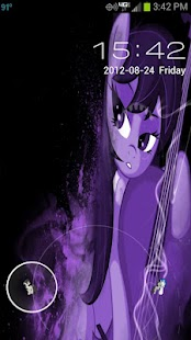 MLP Octavia GO Locker Theme - screenshot thumbnail
