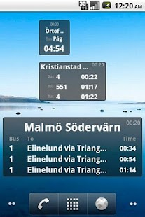 Bus Stop Info Skåne- screenshot thumbnail