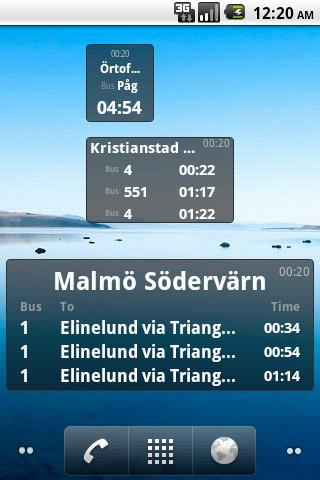 Bus Stop Info Skåne- screenshot