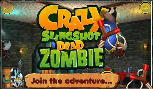 3D Crazy Slingshot Dead Zombie