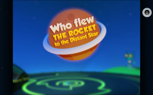 Who Flew The Rocket Story Book