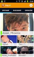 Screenshot of Gay.nl