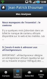 Jean-Patrick Ehouman- screenshot thumbnail
