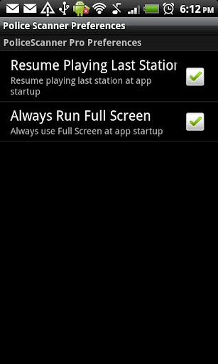 Screenshot for Police Scanner Radio PRO in Hong Kong Play Store