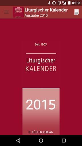 Liturgischer Kalender