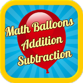 Math Balloons Add Sub Free