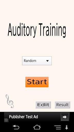 Auditory Training