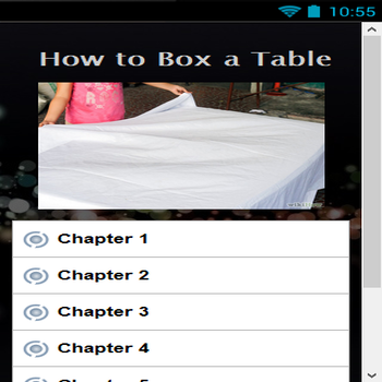 How to Box a Table