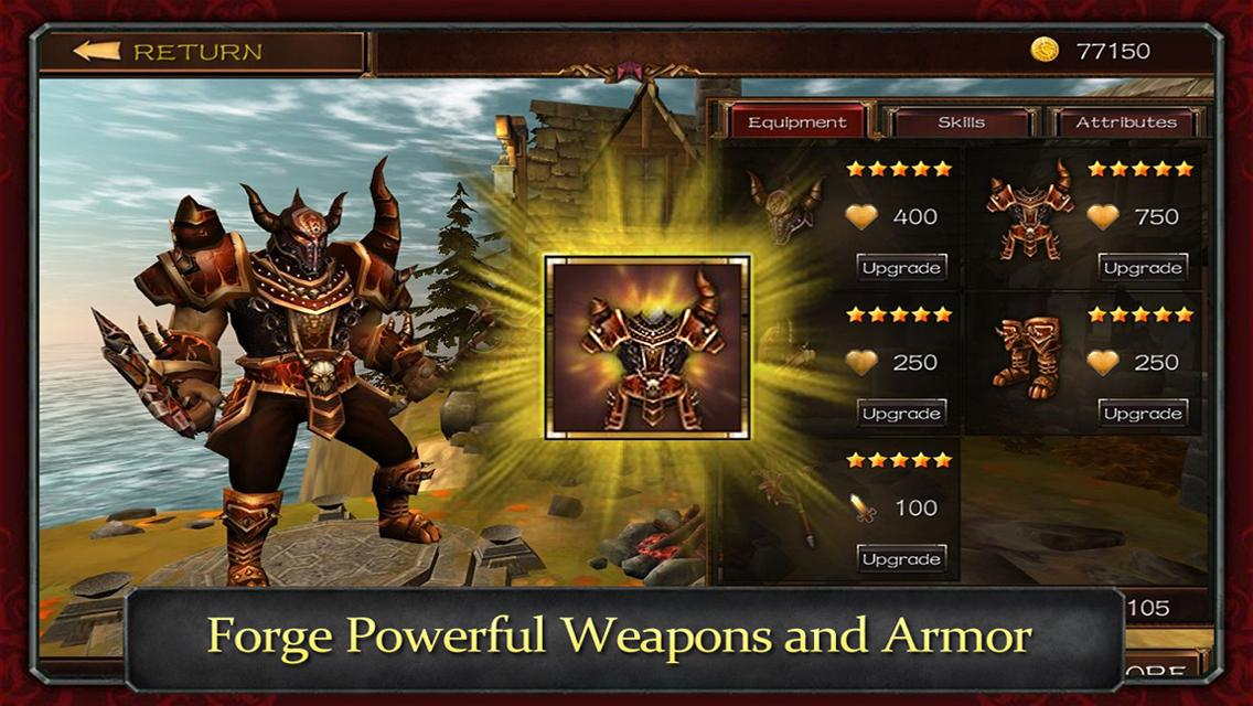 Demonrock: War of Ages - screenshot