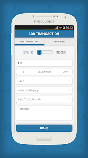 Moveo Expense Manager- screenshot thumbnail