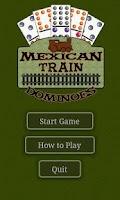 Screenshot of Mexican Train Dominoes