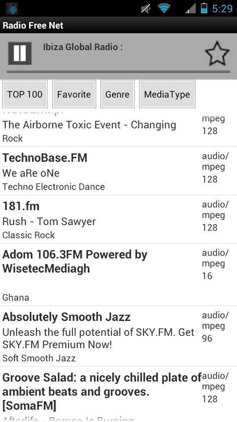 Radio Free Net: Music and Talk - screenshot