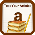 Test Your Articles icon