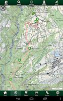 Screenshot of SityTrail Switzerland