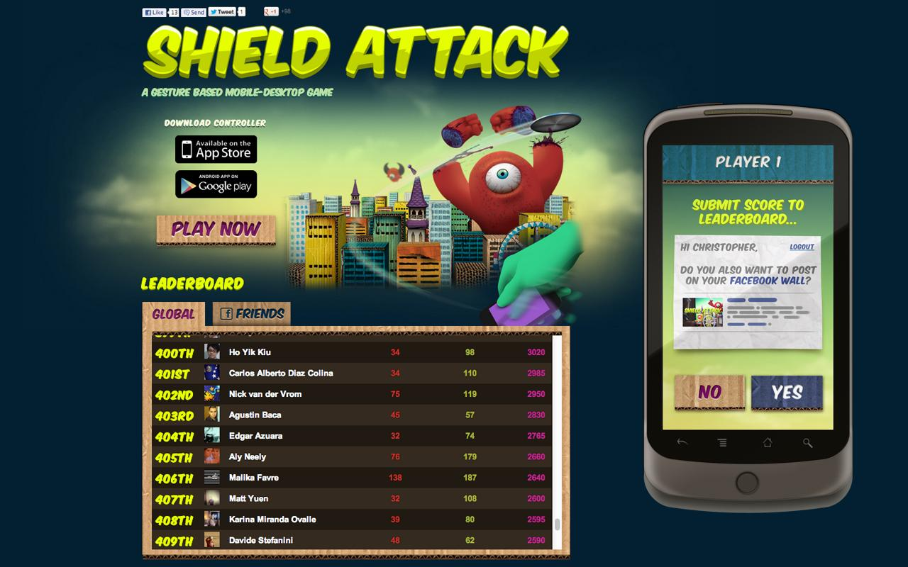 Shield Attack - screenshot