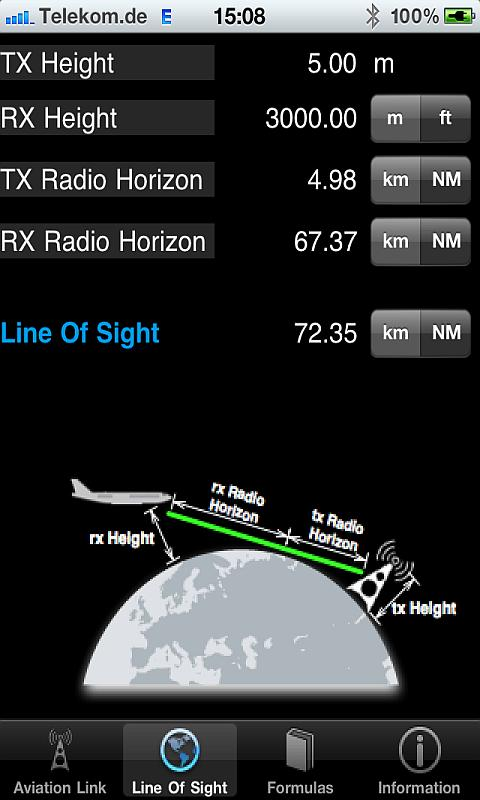Aviation RF Link- screenshot