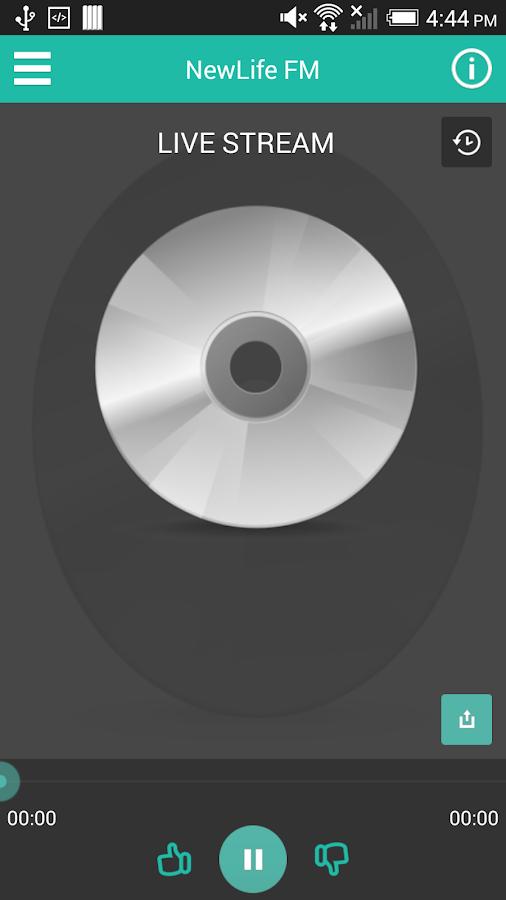 NewLife FM - screenshot
