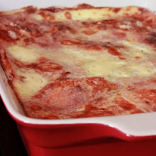 Sliced Bread Lasagna.