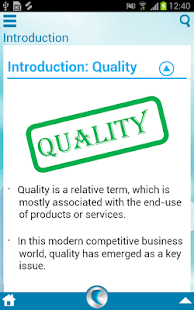 Quality Management - screenshot thumbnail
