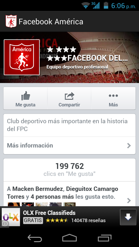 América De Cali - screenshot