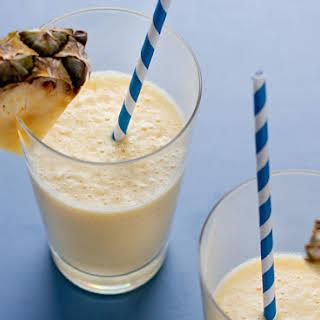 Pineapple Coconut Vitamin C Smoothie.
