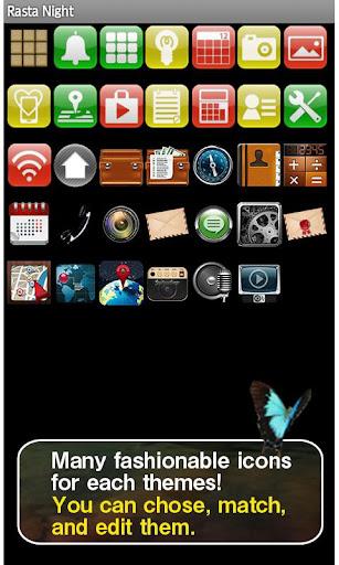 Rasta Night Wallpaper Theme 1.1 Windows u7528 4