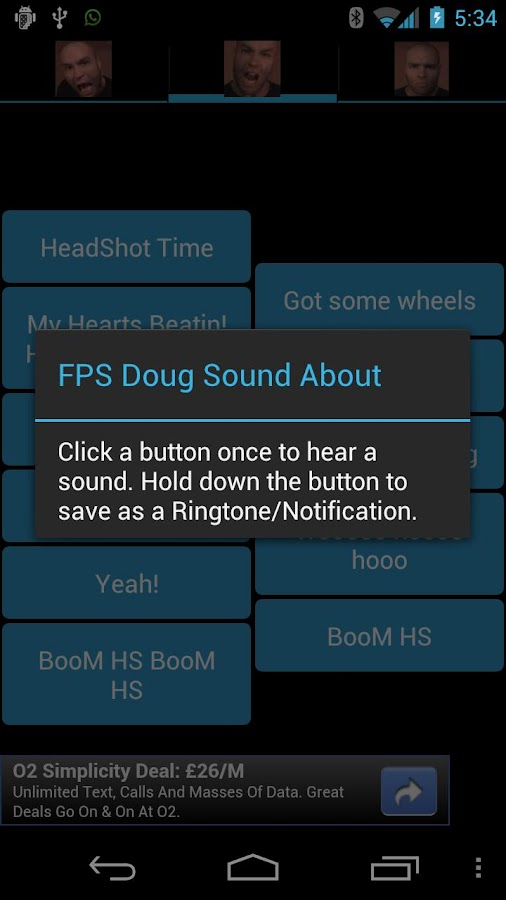 FPS Doug SoundBoard - screenshot