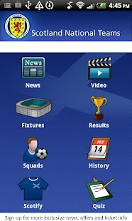 Scotland National Teams - screenshot thumbnail
