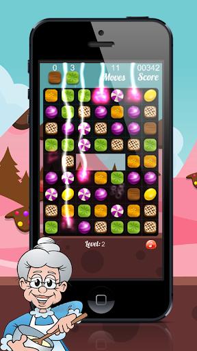 Happy Granny : Candy Match 3 Puzzle 2.0 screenshots 4