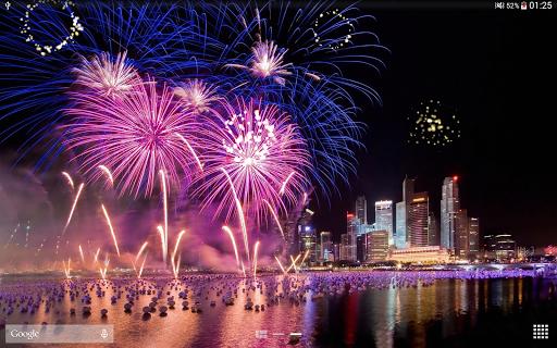 Fireworks Live Wallpaper 2018 1.2.1 screenshots 10