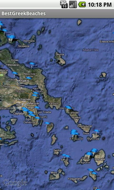 Best Greek Beaches - screenshot