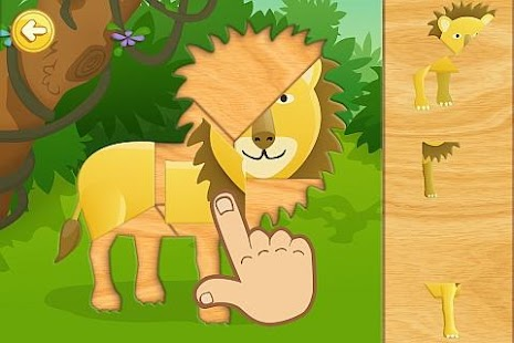 Animal Fun Puzzle for Toddlers
