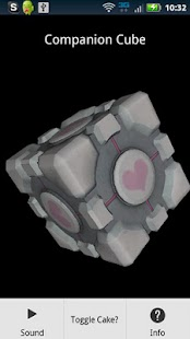 Portal Companion Cube Donate - screenshot thumbnail