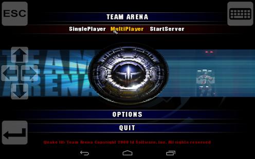 Q3-Touch Port of Quake 3