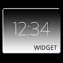 シンプルなデジタル時計ウィジェット icon