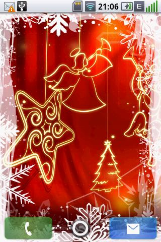 3D Christmas LiveWallpaper - screenshot