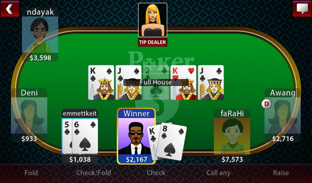 Texas holdem poker internet