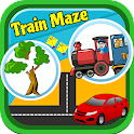Train Maze for Toddler icon