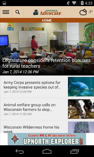玩免費新聞APP 下載Spooner Advocate app不用錢 硬是要APP