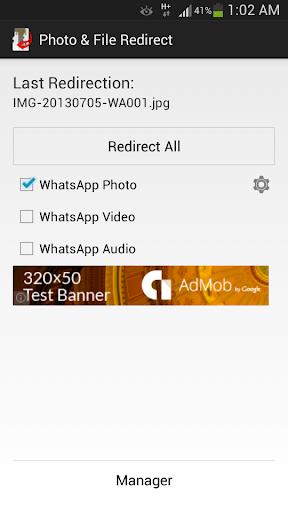 Photo File Redirect