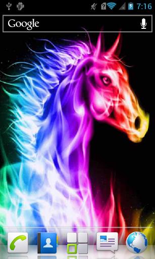 Blazing Horse LWP