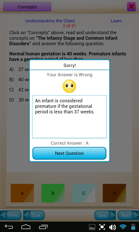 QVPrep Nursing Caregiver PCA- screenshot
