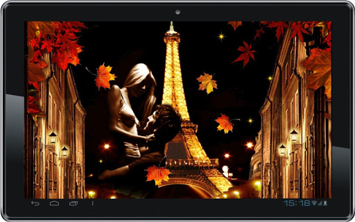 【免費個人化App】Paris Autumn Night HQ LWP-APP點子