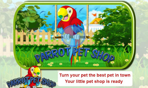 Parrot Pet Shop -Bird pet game