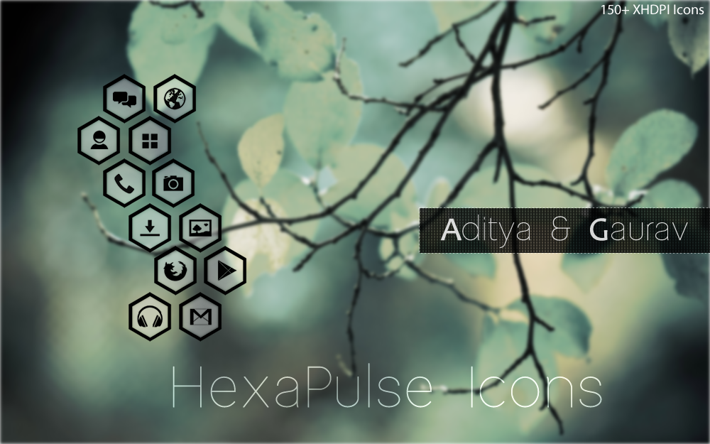 HexaPulse Icons (NOVA/APEX/GO)- screenshot