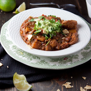 Holy Mole Chicken and Squash Chili