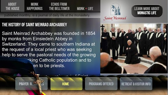 Saint Meinrad Tour App- screenshot thumbnail